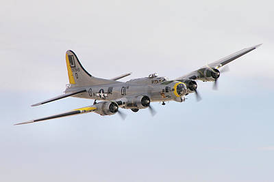 Photograph - Boeing B-17g Flying Fortress by Tim Beach