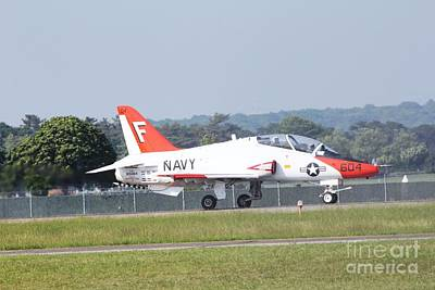 Photograph - Boeing T45 by Scenesational Photos