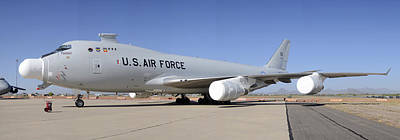 Boeing Yal-1a Airborne Laser Testbed Davis-monthan Afb April 15 2012 Print by Brian Lockett