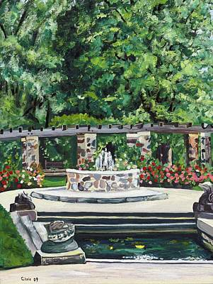 Boerner Botanical Gardens Paintings