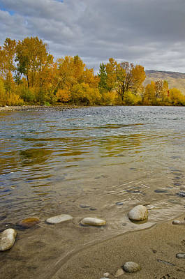Photograph - Boise River by David Martorelli