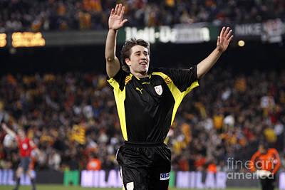 Photograph - Bojan Krkic Celebrating A Goal 3 by Agusti Pardo Rossello