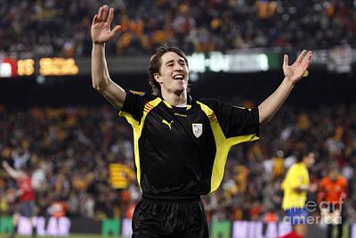 Photograph - Bojan Krkic Celebrating A Goal 5 by Agusti Pardo Rossello