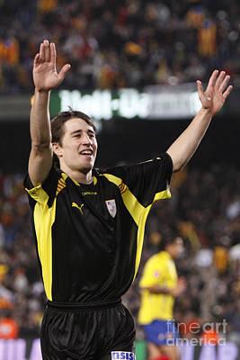 Photograph - Bojan Krkic Celebrating A Goal 6 by Agusti Pardo Rossello