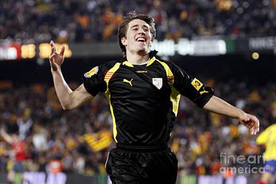 Photograph - Bojan Krkic Celebrating A Goal 7 by Agusti Pardo Rossello