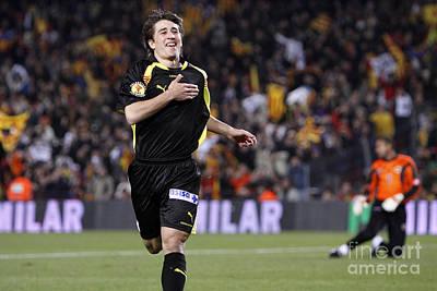 Photograph - Bojan Krkic Celebrating A Goal by Agusti Pardo Rossello