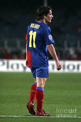 Photograph - Bojan Krkic In Camp Nou by Agusti Pardo Rossello