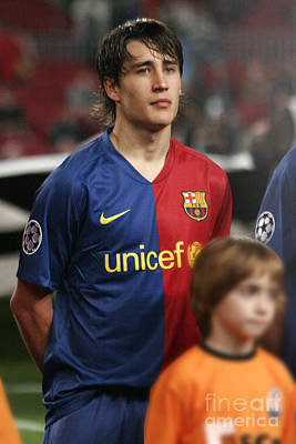 Photograph - Bojan Krkic In Champions League by Agusti Pardo Rossello