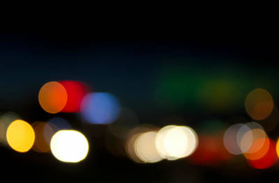 Bokeh Light Art Print