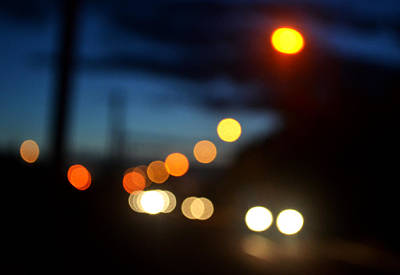 Photograph - Bokeh Road by Victoria Wise