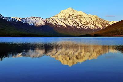 Chugach Mountains Photograph - Bold Peak by Rick Berk
