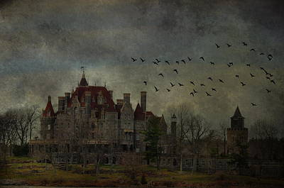 Castle Photograph - Boldt In Flight by Emily Stauring