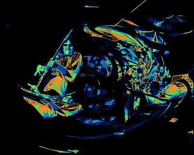Photograph - Tb Cosmic Swirl by Ben Upham
