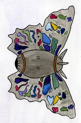 Bomb Butterfly Art Print