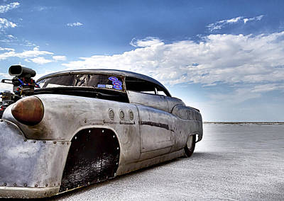 Streamliner Photograph - Bombshell Buick Bonneville 2012 by Holly Martin