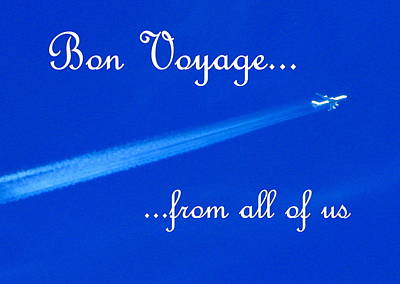 Photograph - Bon Voyage From All by T Guy Spencer