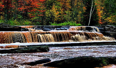 Photograph - Bonanza Falls In Autumn II by Matthew Winn