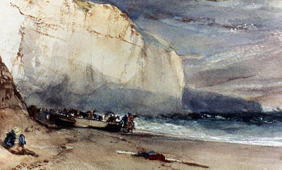 Photograph - Bonington: Cliff, 1828 by Granger