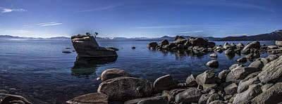 Bonsai Rock Photograph - Bonsai Rock Lake Tahoe by Brad Scott