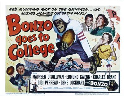 Gigi Photograph - Bonzo Goes To College, Edmund Gwenn by Everett