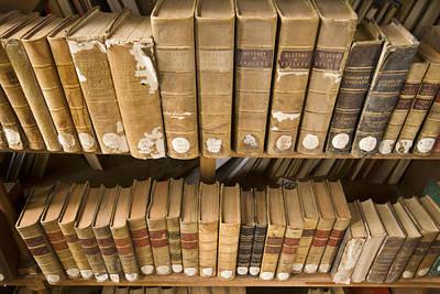 Books At Nilgiri Hills Library, Ooty Art Print