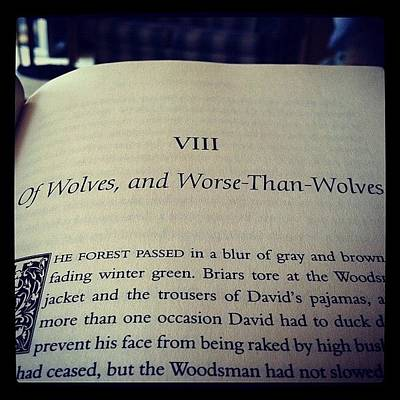 Horror Photograph - #books #horror #reading #werewolves  by Carla Hufstedler