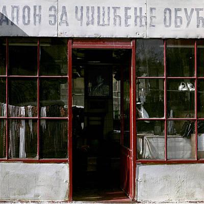Photograph - Bootblack. Belgrade. Serbia by Juan Carlos Ferro Duque