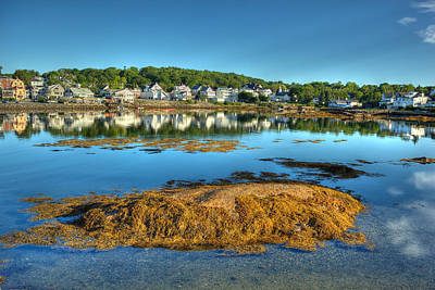 Boothbay Harbor Art Print by Ron St Jean