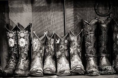 Photograph - Boots by Sherry Davis