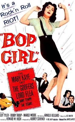 Saxophone Photograph - Bop Girl, Aka Bop Girl Goes Calypso by Everett
