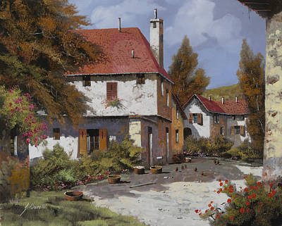 Swirling Patterns - Borgogna by Guido Borelli