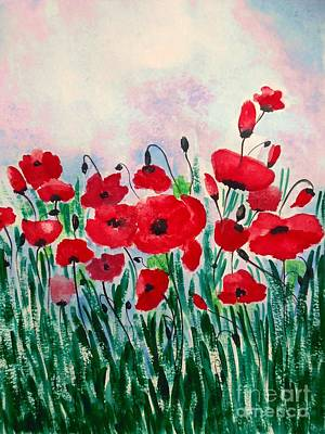 Painting - Born Free by Anjali Vaidya