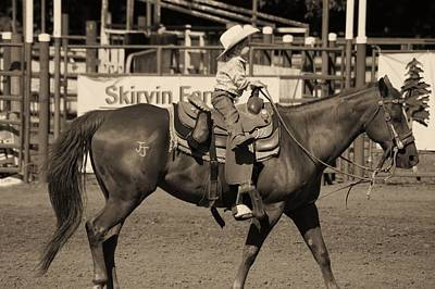 Photograph - Born In The Saddle by Angi Parks