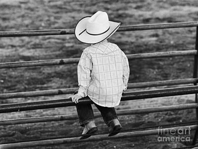 Born To Be A Cowboy Art Print