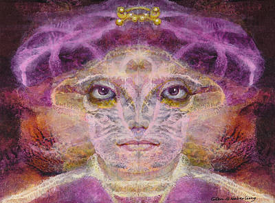 Born To The Purple Art Print by Glen Heberling