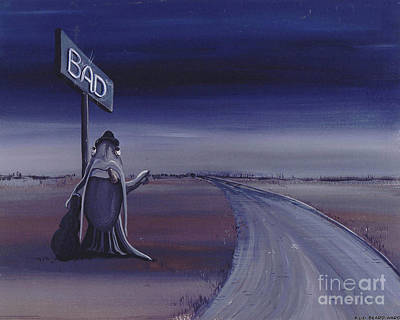 Painting - Born Under A Bad Sign by Lizi Beard-Ward