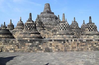 Mahayana Photograph - Borobudur Mahayana Buddhist Monument by Mark Taylor