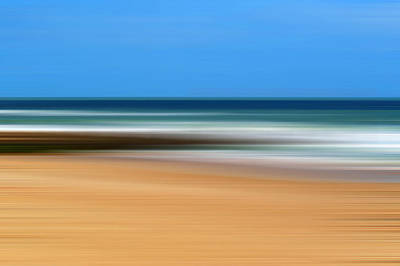 Photograph - Boscombe Beach Abstract by Chris Day