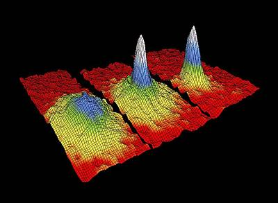 Time Code Photograph - Bose-einstein Condensate Research by National Institute Of Standards And Technology