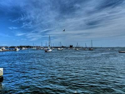 Coast Photograph - Boston 002 by Lance Vaughn