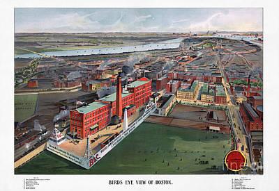 Photograph - Boston, 1902 by Granger