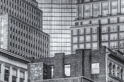 Boston Building Facades II Art Print by Clarence Holmes