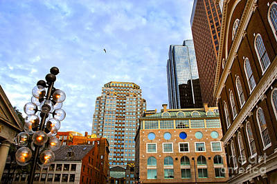 Boston Downtown Art Print