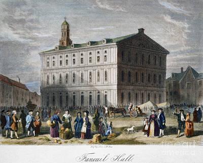 Boston: Faneuil Hall, 1776 Art Print