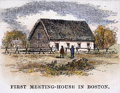 Boston: First Church Art Print by Granger