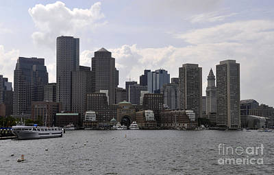 Photograph - Boston Harbor by Cheryl McClure