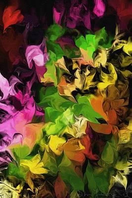 Abstracts Digital Art - Botanical Fantasy 100312 by David Lane