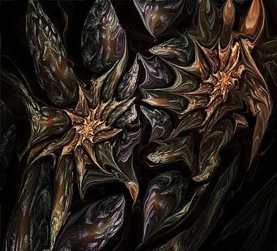 Botanical Fantasy 123011 Art Print by David Lane