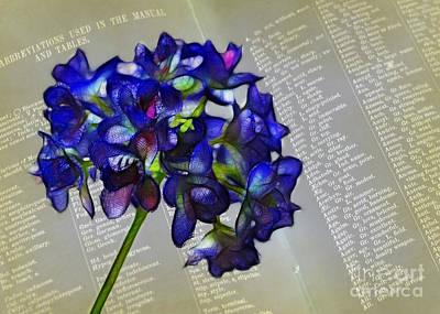 Botany Book Art Print by Judi Bagwell
