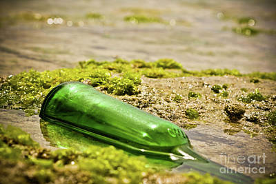 Bottle In Water Original